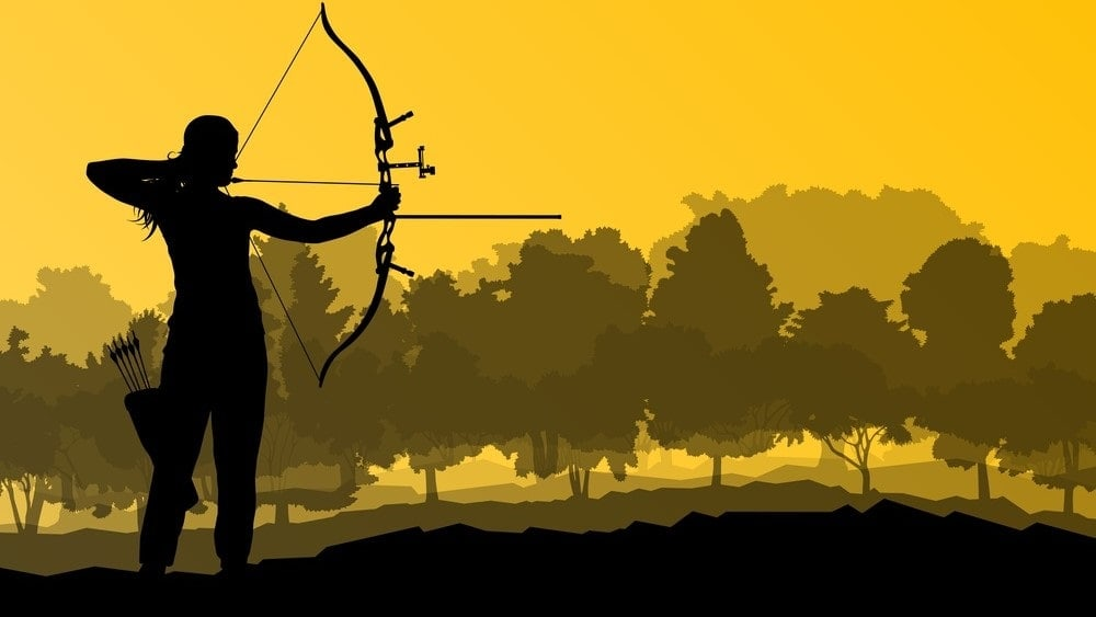 an image of a bowhunter