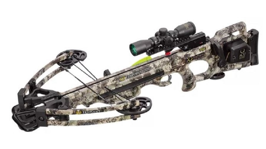 The TenPoint Crossbow on a white background
