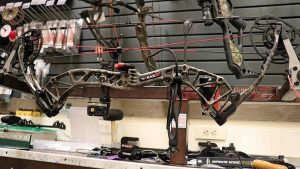 picture of the blackout epic compound bow