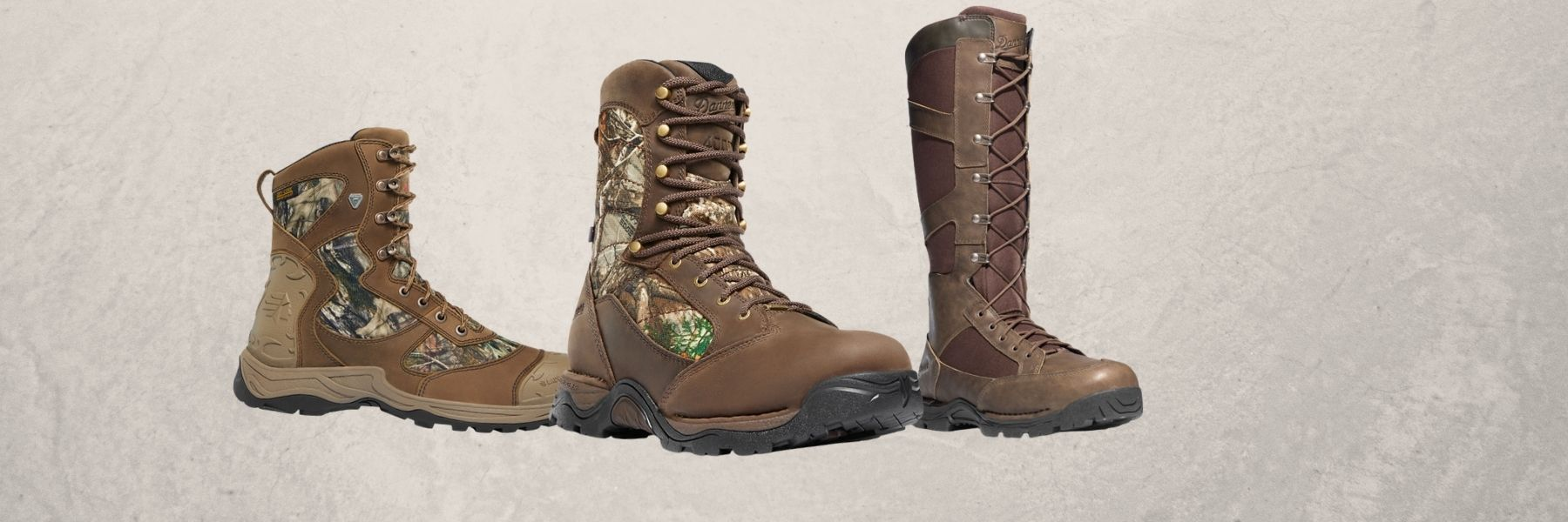 three boots for hunting