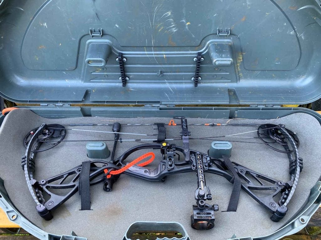 plano Protector Bow case with my bow