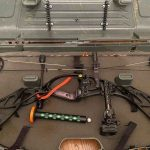 the hoyt defiant compound bow in a bowcase
